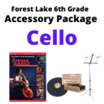 FL Cello Accessory Package