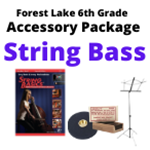 FL String Bass Accessory Package