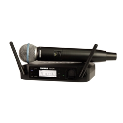 GLXD24/B58 Digital Handheld Wireless System with Beta 58 Vocal Microphone